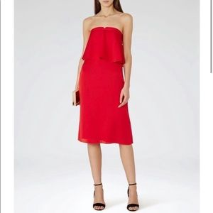 HOT Red and Red Hot Reiss Dress